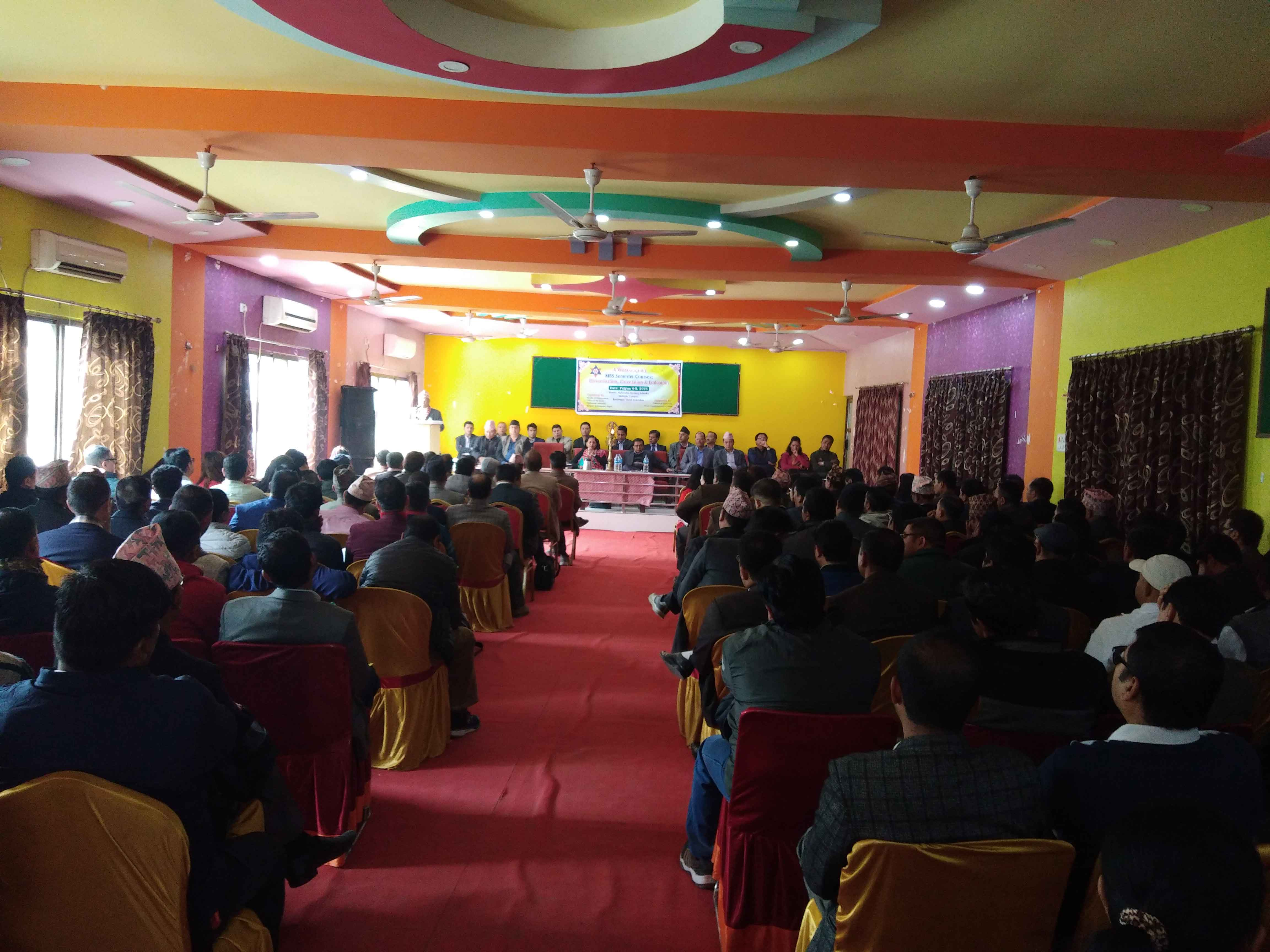 mahendra morang campus BBM